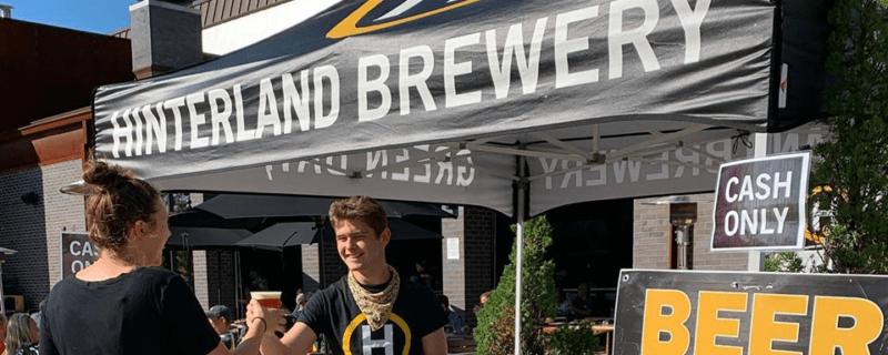 hinterland events beer tent